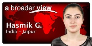 Hasmik G. Coordinator in India - Jaipur