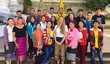 Volunteers in Laos