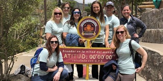 Gap Year Ecuador Quito Sarah Trescott Therapy Program
